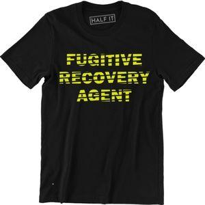 Fugitive Recovery Agent Bounty Hunter T-Shirt Tee